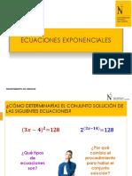 PPT 07-Ecuaciones Exponenciales-COMMA 2019 2