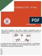 Questões de Química -SSA - 3ºANO