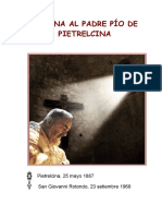 Novena Al Padre Pío de Pietrelcina