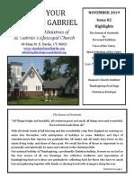 newsletter 11 19