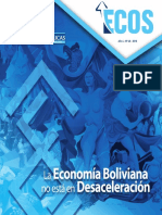 Eco Bolivia No Esta en Desaceleracion