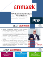 GLENMARK's analysis