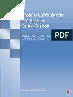 Projeto Curricular Sala A-2020