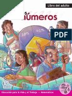 los numeros libro de adulto