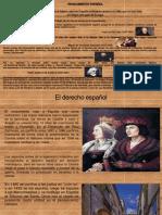 Historia del Derecho Español