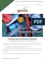 Maquinas Para Fabricar Madera Plastica Fabricacion de Madera Plastica Maquinaria Para Fabricar Madera Plastica Equipos de Fabricacion y Elaboracion de Madera Plastica