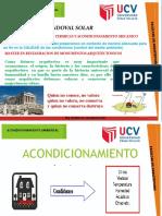 WASS UCV - 3º Clase Acondicionamiento Ambiental