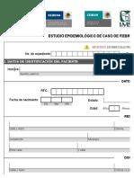 Estudio Epidemiologico de Caso FD y FHD
