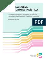Consulta Publica Ley Estadistica