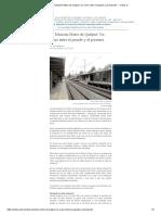La Estación Metro de Quilpué. Un Cruce Entre El Pasado y El Presente. – Critica.cl