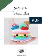 bolo de aniversárioEnviando por email Bolo De  Arco-Íris