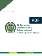 PIPSC - CV LIBRO 5. 16 Estrategias Operativas de La Policía Nacional PLAN CORAZÓN VERDE