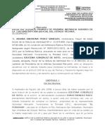 Contestacion de Demanda Accion de Cumplimiento de Obligacion y Subsidiaria Resolución