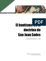 El Bautismo en La Doctrina de San Juan Eudes - Nicolás Bermúdez