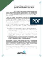 Pronunciamiento CNDH Autónoma