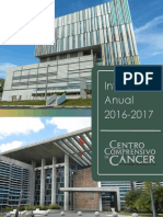 Informe Anual Centro Comprensivo de Cancer de Puerto Rico