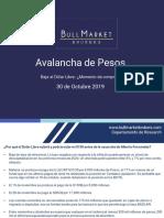 Avalancha de pesos
