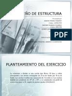 Presentación Diseño de Estructura
