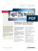 Designing a Coverage System With ION-B Series Elements (PA100596.4-En)