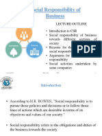 1 Social Responsibilities of Business (f)