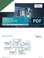 Digitalizace Tia Portal v15 a Opc Ua Info