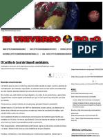 Edward Leedskalnin El Castillo de Coral de – El Universo Rojo. Artículo