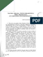 Teatro, Drama, Texto dramático, obra dramática.pdf