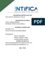 Informe 8 Química_ Leyes d Elos Gases Ideales (1)
