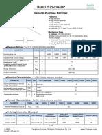1N4001 - 1N4007 DataSheet