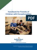 k12 safeandcaring handbook parents children exceptionalities