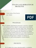 Prospectiva en La Elaboracion de Proyectos