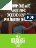 Terminologia de habilidades socioemocionales