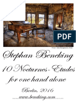10 Nocturnes Etudes for One Hand Alone