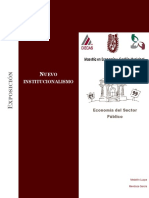 3. El Nuevo Institucionalismo