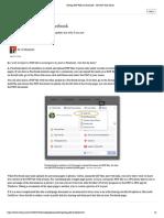 Posting PDF Files on Facebook