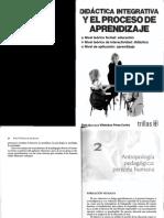 Antropología Pedagogica