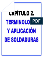 PRESENTACIÓN CAPÍTULO 2.- Terminología y Aplicaciones de Juntas y Soldaduras-R