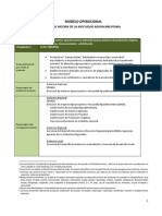 MODELO OPERACIONAL DEL PLAN PRESUPUESTAL 0041
