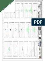 planos de secciones transversales