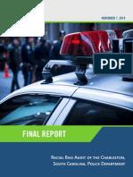 Final Draft of Racial Bias Audit of the Charleston Police Department