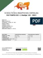 Rimappatura Centralina Bergamo Fiat Punto Evo 1 1 3 Multijet 16v 95cv Ptptuning