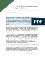 CONSECUENCIAS DE LA LEY DE FINANCIAMIENTO