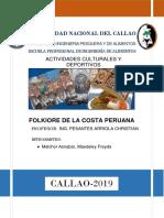 Folklore de La Costa