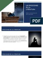 Las emociones en la Literatura