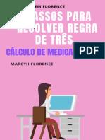 eBook 5 Passos Para Resolver Regra de Três - Cálculo de Medicamentos