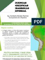Las Cuencas y El Desarrollo Territorial