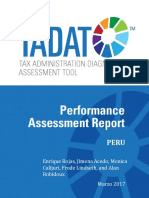 Informe TADAT