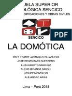 Monografía - La Domotica