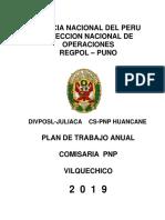 PAT-2019 Plan de Trabajo Anual