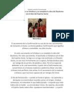 El sentido e institución de la Confirmación.docx